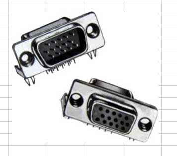 Right Angle D-SUB Connectors, Tray Quantities Right Angle D-SUB Connectors, Tray Quantities